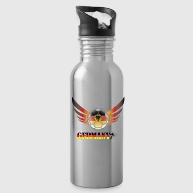 Soccer Football Germany - Water Bottle
