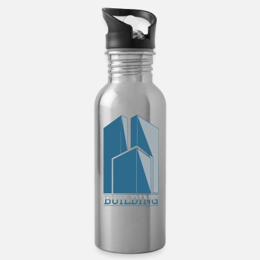 Building Building - Water Bottle