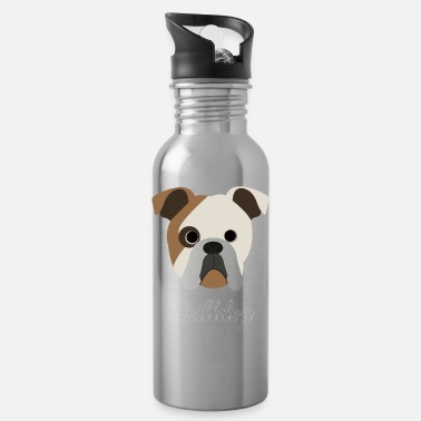 Bulldog Bulldog - English Bulldog - Water Bottle