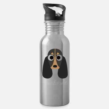 Coonhound Owners Coonhound - Black and Tan Coonhound - Water Bottle