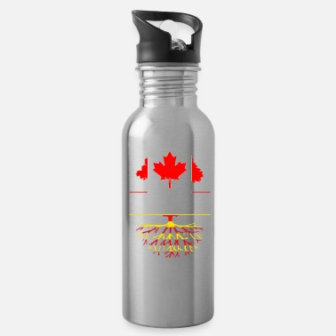 Catalan Designs Canadian Grown with Catalan Roots Catalonia Design - Water Bottle