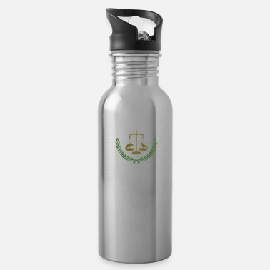 Philadelphia School Of Bird Law - Water Bottle