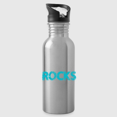 Choir Rocks singing lover christmas gift kids - Water Bottle