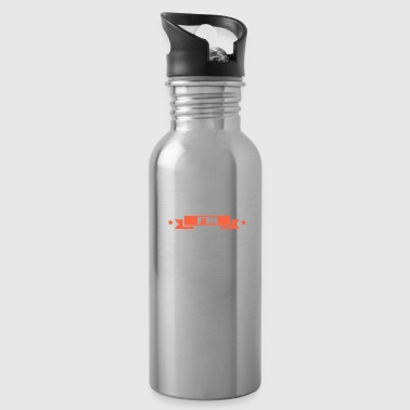 Weightlifting Shut Up I'm Lifting Weight Lifter Fitness - Water Bottle
