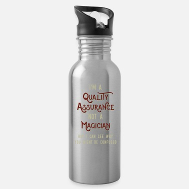 Engineer Assuarance magician Cool & Confusing Tshirt - Water Bottle