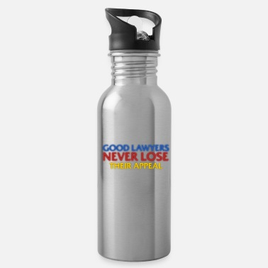 grad student funny attorney lawyers appeal gift grad student water bottle