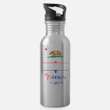 Hunting California Grown with Cuban Roots - Water Bottle