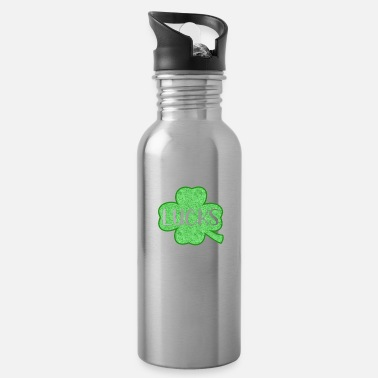 Leaf St. Patricks Day Zero Lucks Given - Water Bottle