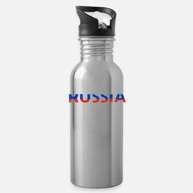Russian Russia gift Vodka flag military - Water Bottle
