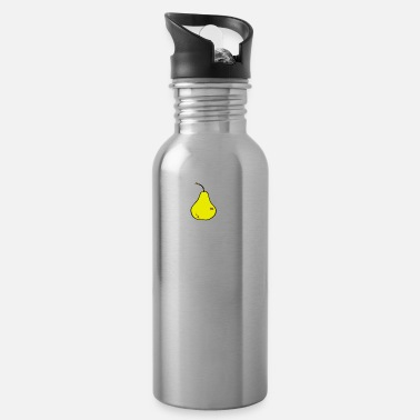 Meat Eating Healthy Pear Lover Gardening Gifts - Water Bottle