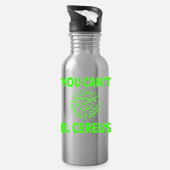 Love Mugs & Drinkware - This funny , ridiculous and hilarious tee will - Water Bottle silver