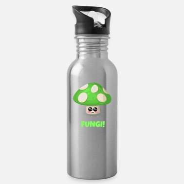 Pun I Am Really A Fungi Funny Mushroom Pun - Water Bottle