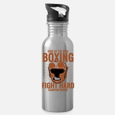 Boxing Ring king of the boxing ring - Water Bottle