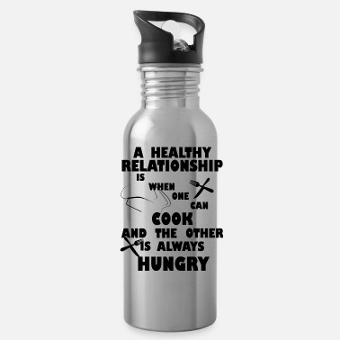 Hausmann A working relationship cook gift shirt - Water Bottle
