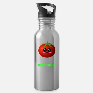 Tomatoe Pun I Feel Like A Vegetable Funny Tomato Pun - Water Bottle
