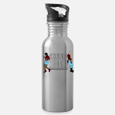 Skinhead Skinhead Reggae graphic - Traditional Skinhead - Water Bottle