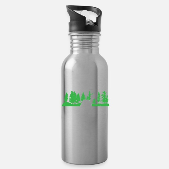 Funny Camper RV Camping Family Vacation product Water Bottle