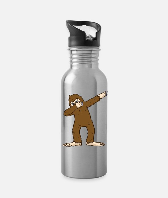 Big Mugs & Cups - Big Foot Dub - Water Bottle silver