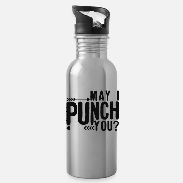 Free Hit May I hit you? - Water Bottle