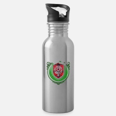 Surname Ross Surname Scottish Clan Tartan - Water Bottle