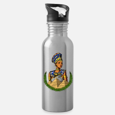 Ancient Civilization Egyptian Queen Nefertiti Ancient Mythology - Water Bottle