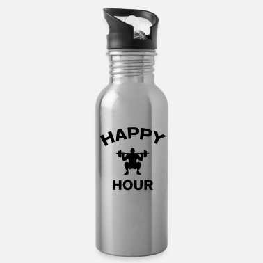 Happy Hour Funny Happy Hour - Water Bottle