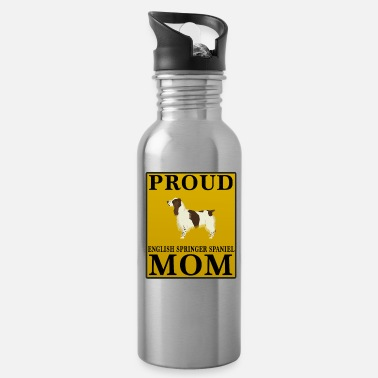 Springer Spaniel Mom Proud English Springer Spaniel Mom - Water Bottle