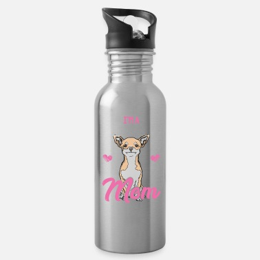 Chihuahua Mom - Water Bottle