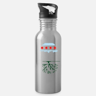 Chicago Chicago Grown with Pakistani Roots - Water Bottle