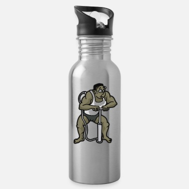 Building PUMP IT UP BODY BUILDING Weigh Lifter Quote - Water Bottle