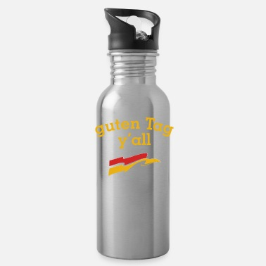 Tradition guten Tag y'all Texas German flag outfit - Water Bottle