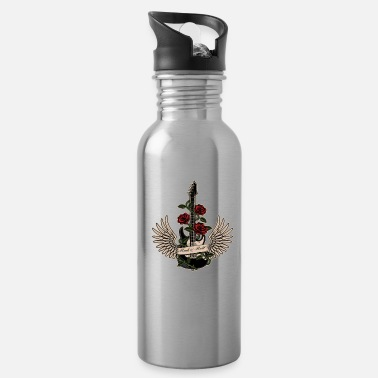 Old I'm Not Old I'm A Classic Guitar Rockmusic Gift - Water Bottle