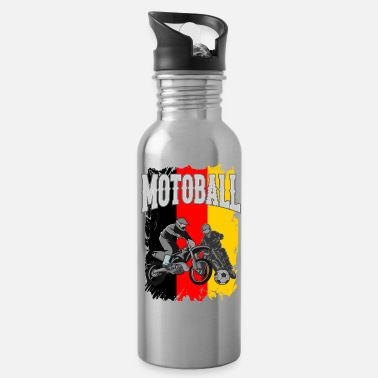 Motor Bike Motoball Germany Dirt Bike Gifts For Bikers - Water Bottle