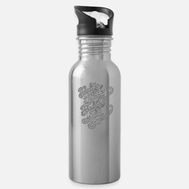 Healthy Healthy Lifestyle Healthy Body Healthy Life - Water Bottle