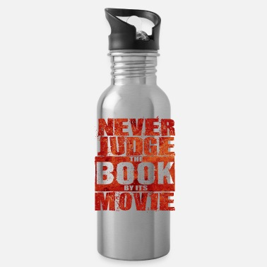 Cinema Never Judge The Book - Total Basics - Water Bottle