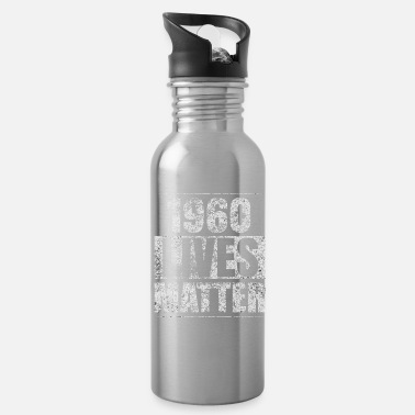 Funny 60th Birthday Funny Birthday Vintage 1960 Gift Idea - Water Bottle