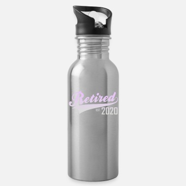 Farewell 2020 retirement & pension - Water Bottle