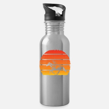 Show Jumping Sunset horse riding - Water Bottle