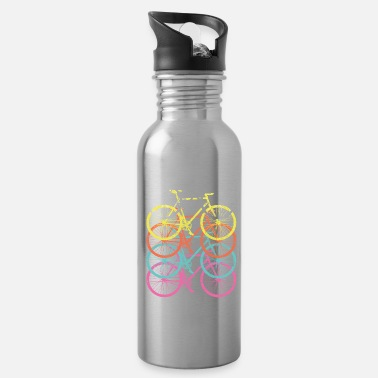 Sayings Retro Vintage Cycling - Water Bottle