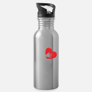 Future School Social Worker Dad Mental Health - Water Bottle