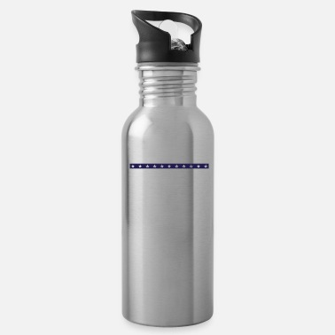 Sheriff Retired Police Officer Proud Patriotic Officer - Water Bottle