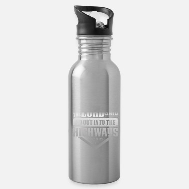 Read Motorcycle Biker - Water Bottle