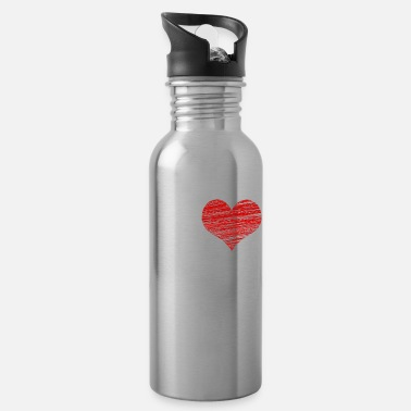 Submissive I love my Master BDSM Submissive Sub Slave gift - Water Bottle