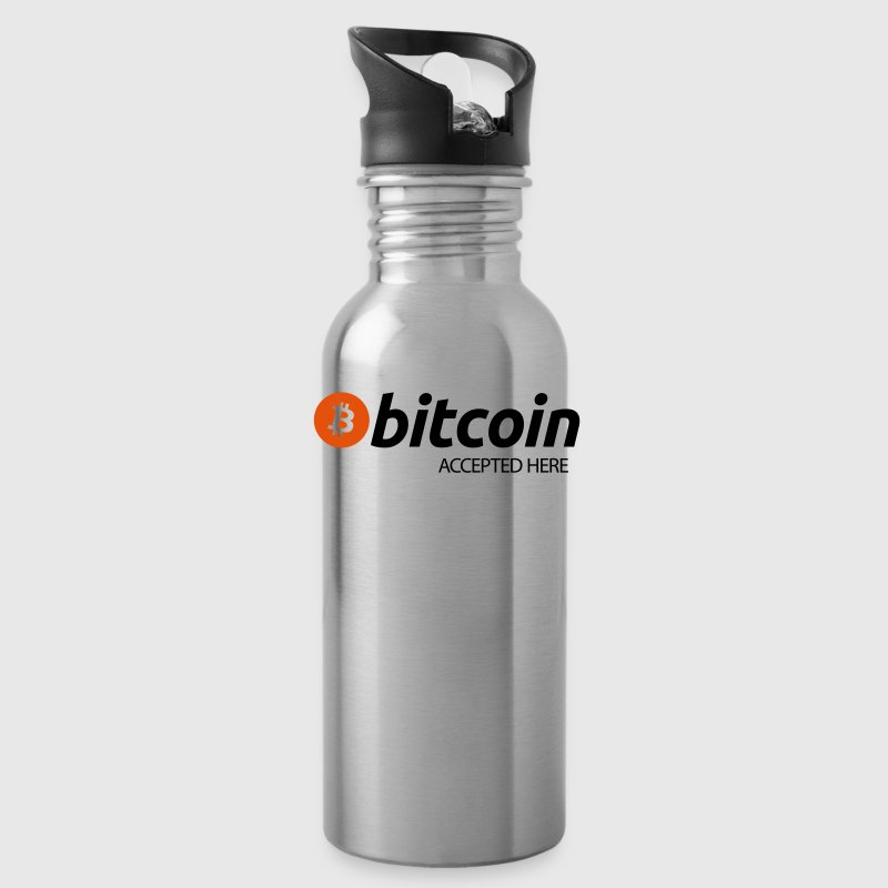 Bitcoin Accepted Here - Water Bottle