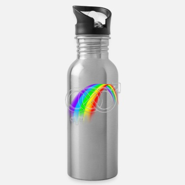Lgbtq LGBTQ Rainbow - Water Bottle
