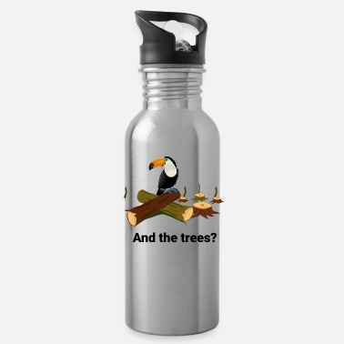 tucan without trees - Water Bottle