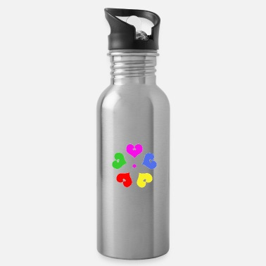 Heartly Heartly flower - Water Bottle