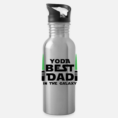 Best yoda best DAD - Water Bottle