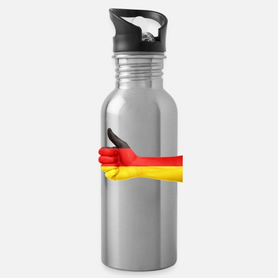 Love Mugs & Drinkware - germany - Water Bottle silver
