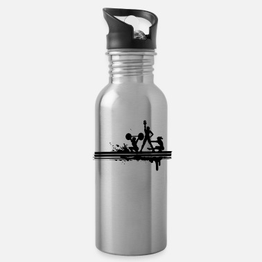 Crossfit Crossfit silhouette - Water Bottle